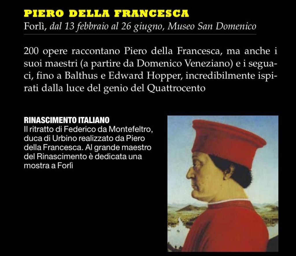 Piero Della Francesca Forl